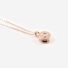 The Tiny Top Bullet Necklace - Rose Gold