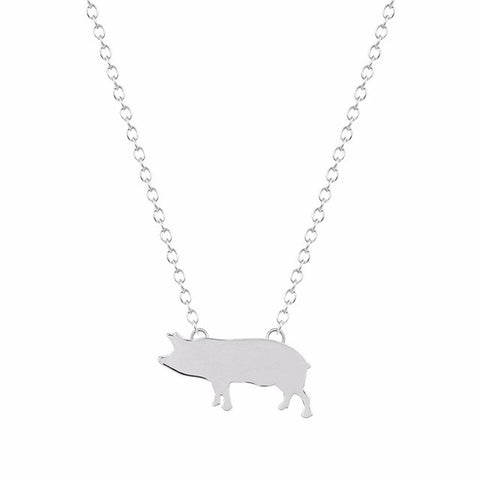 Petite Piggy Necklace