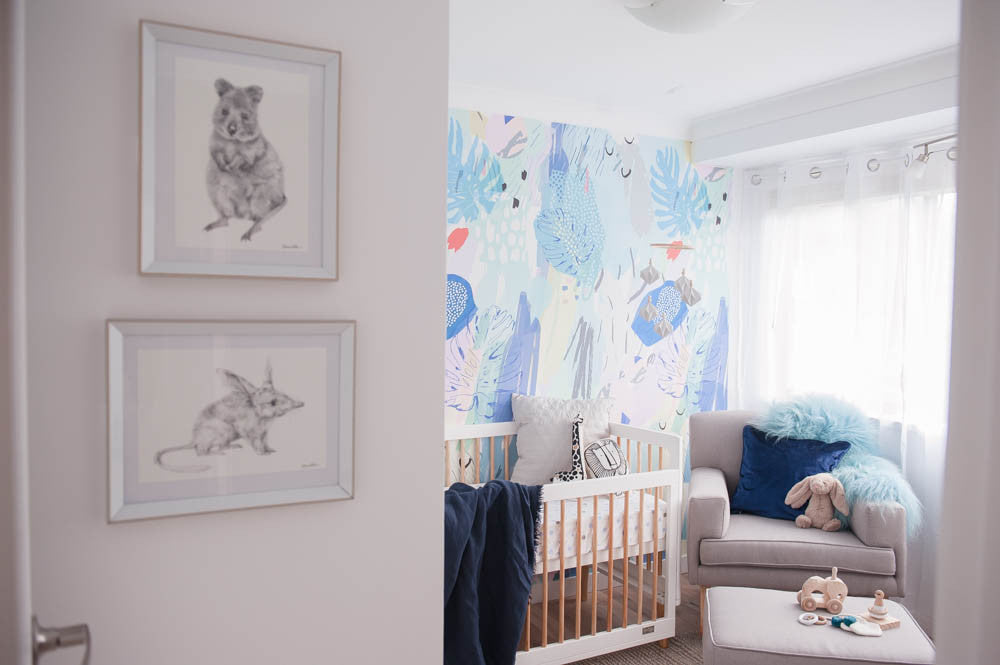 A nursery for baby Watts