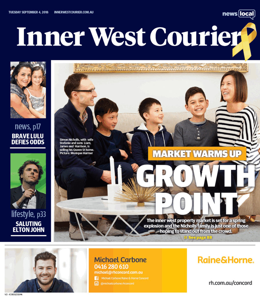 Feature in Inner West Courier