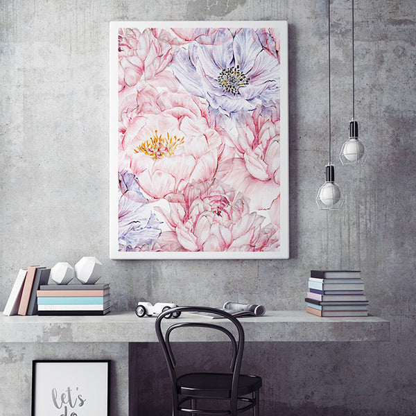 Modern Abstract Flowers