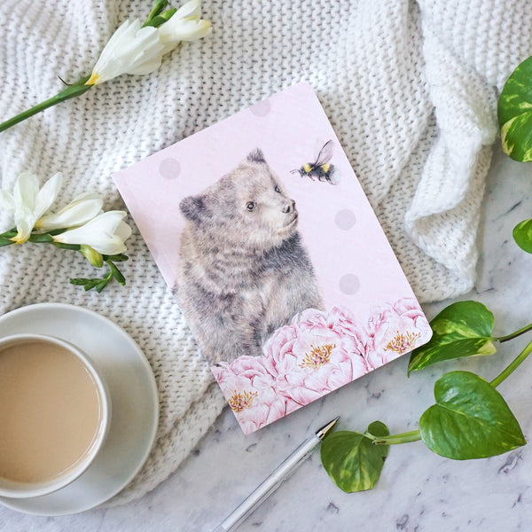 Bear & Bee Notebook