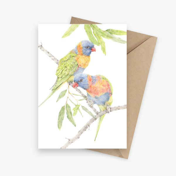 Budding Romance Greeting Card