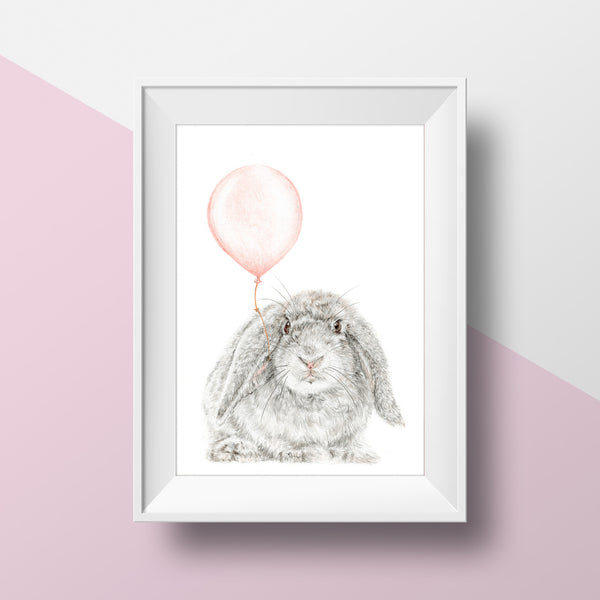 Bunny With Balloon