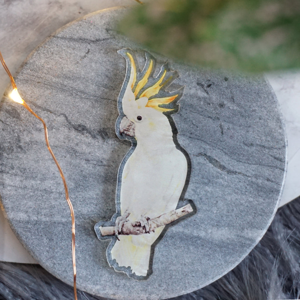 Limited Edition Cockatoo Pin Pal