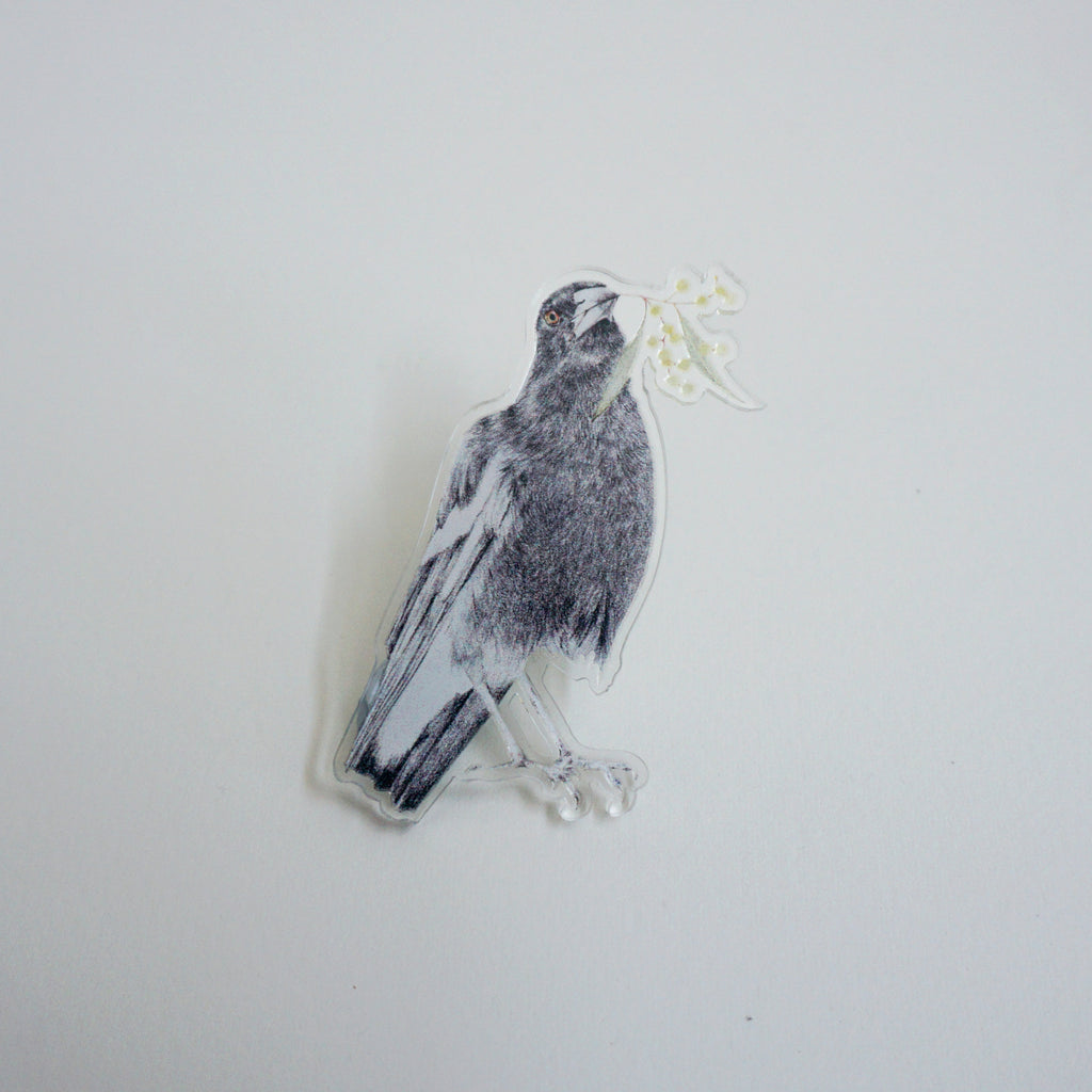 Limited Edition Magpie Pin Pal