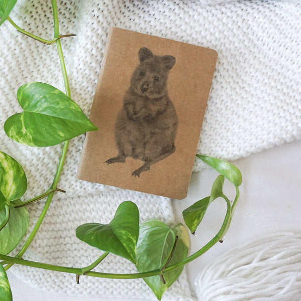 Quokka Recycled Kraft Notebook