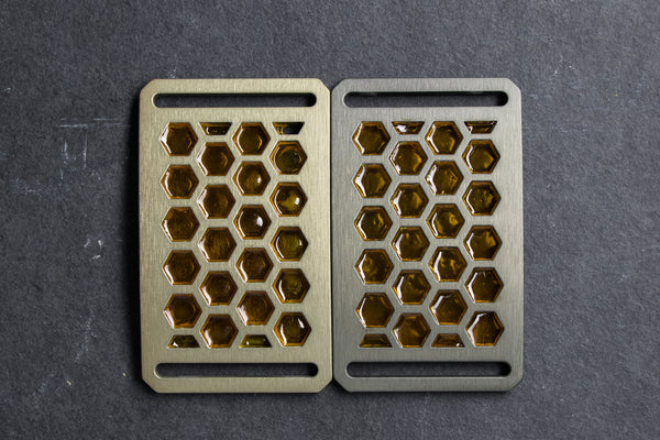 Grip6 Honeycomb belt buckles