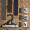 grip6 belts men's conservation combo pack w/free hanger