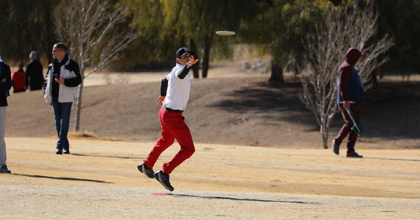 Disc golf has grown in popularity exponentially in recent years. Pictured is a player throwing a disc.