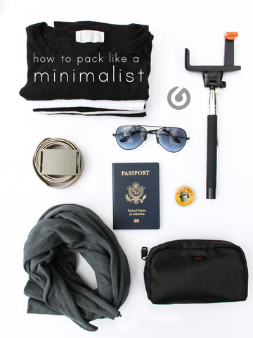 pack like a minimalist