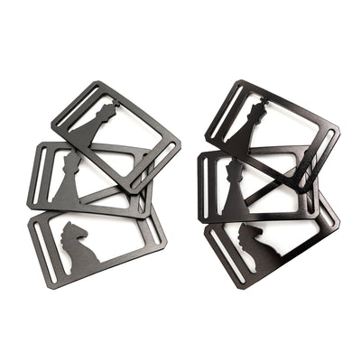 "Chess Series Buckles (for 1.5"" Straps)"