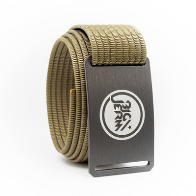 Big Jerm Gunmetal Belt