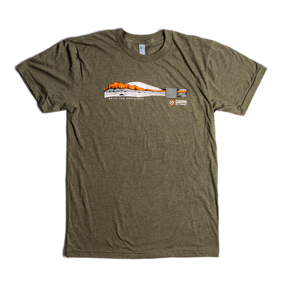 T-Shirt: Built for Adventure