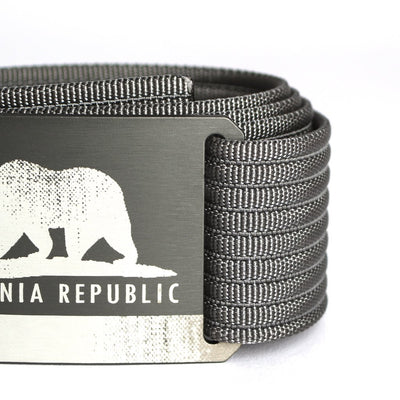 Men's California Flag Belt