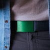 GRIP6 Classic Men's Belt Moss (Green) Buckle Collection