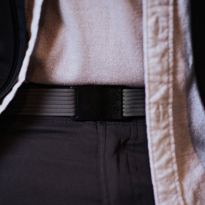 GRIP6 Belts Classic Men's Narrow Ninja (Black) Collection