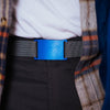 GRIP6 Belts Classic Men's Narrow River (Blue) Collection