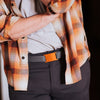 GRIP6 Belts Men's Narrow Orange (foxtail) collection