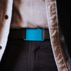 GRIP6 Belts Classic Men's Narrow Aurora (Teal) Collection