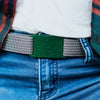 fb-feed GRIP6 Belts Women's Classic Green (Moss) buckle collection