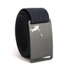 Huck Norris Disc Golf Gunmetal Buckle GRIP6 Navy belt strap swatch-image