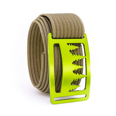Kiwi Uintah GRIP6 Men's belt with Khaki strap swatch-image
