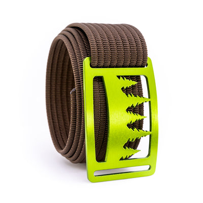 Kiwi Uintah GRIP6 Men's belt with Mocha strap swatch-image