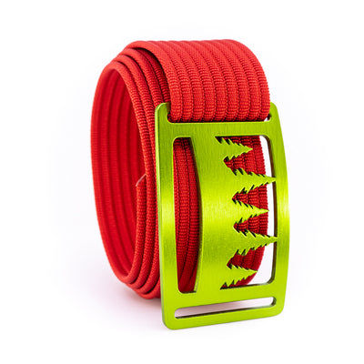 Kiwi Uintah GRIP6 Men's belt with Red strap swatch-image