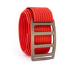 Bronze Vert GRIP6 Men's belt with Red strap swatch-image