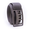 Gunmetal Uintah GRIP6 Men's belt with Grey strap swatch-image