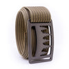 Gunmetal Uintah GRIP6 Men's belt with Khaki strap swatch-image