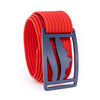 Blue Steel Wasatch GRIP6 Men's belt with Red strap swatch-image