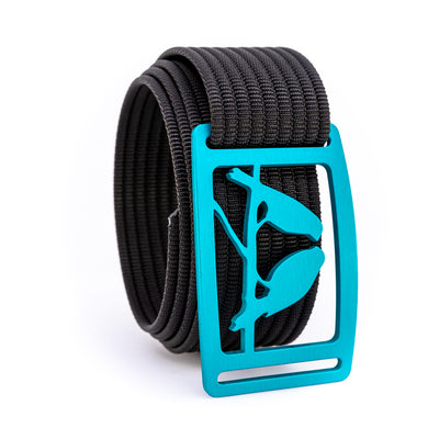 Aurora Kestrel GRIP6 Men's belt with Black strap swatch-image