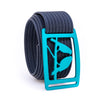 Aurora Kestrel GRIP6 Men's belt with Navy strap swatch-image