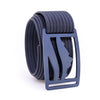 Blue Steel Wasatch GRIP6 Men's belt with Navy strap swatch-image