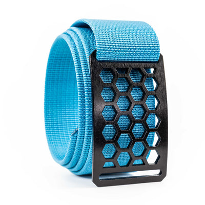 Men's Conservation Ninja Honeycomb buckle GRIP6 Titanium Midweight Strap belt Glacier Blue swatch-image