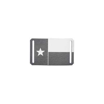 "Texas Flag Buckle (Narrow, for 1.1"" Straps)"