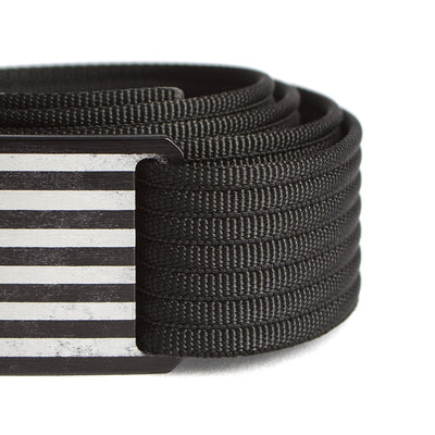 Kids' Black Flag Belt
