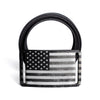 Men's USA Black Flag Belt