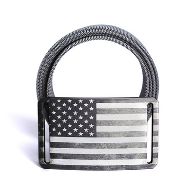 Men's USA Gunmetal Flag