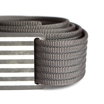 Men's Narrow USA Gunmetal Flag Series Belt