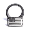 Women's Gunmetal Flag Belt (Narrow)