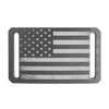GRIP6 Belts Kids' vintage USA gunmetal flag buckle swatch-image