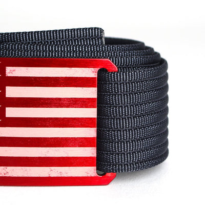 Men's USA Red Flag Belt