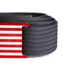 Men's Narrow USA Red Flag Series Belt