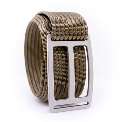 Granite Horizon GRIP6 Men's belt with Khaki strap swatch-image