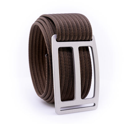 Granite Horizon GRIP6 Men's belt with Mocha strap swatch-image
