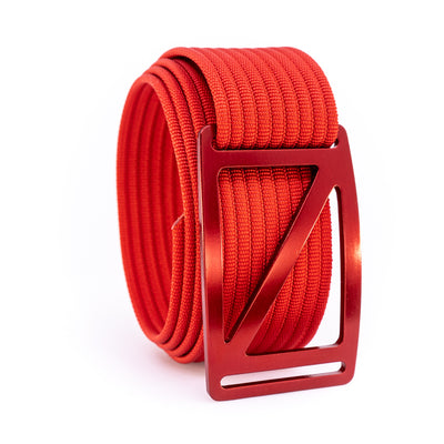 Ember Slope GRIP6 Men's belt with Red strap swatch-image