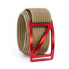 Ember Slope GRIP6 Men's belt with Khaki strap swatch-image